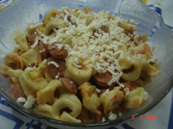 Pasta and Sausages